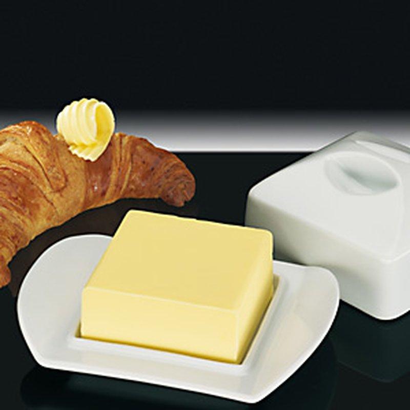 Butter-Dose ´Paris´ aus Porzellan für 1/4 Pfund Butter