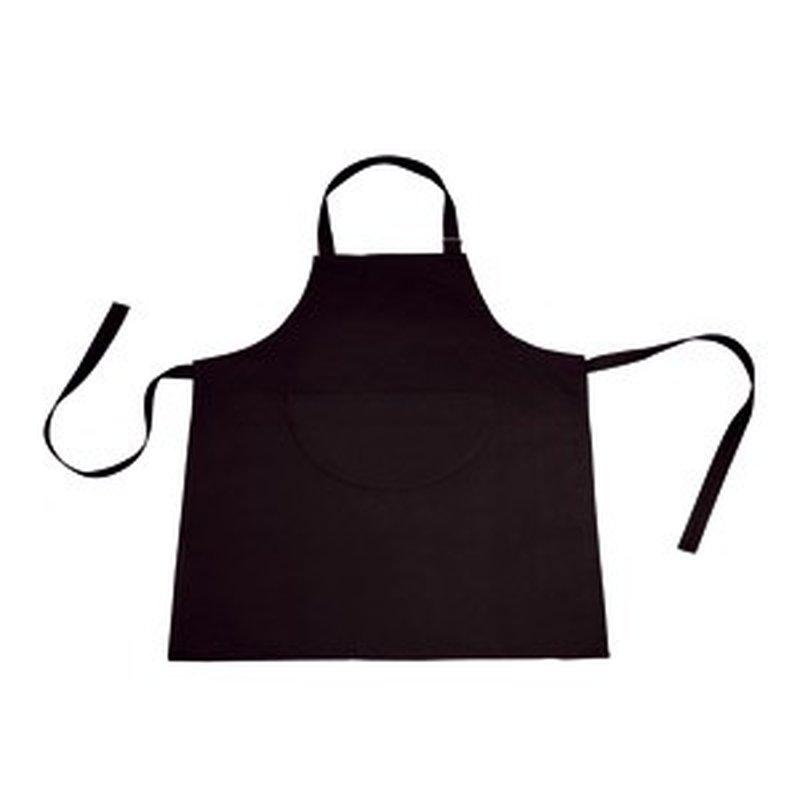 Schwarze Kellner-Schürze, groß (Einzelstück)
