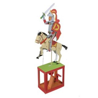 Walter Ruffler mechanischer Papier-Bausatz Red Knight
