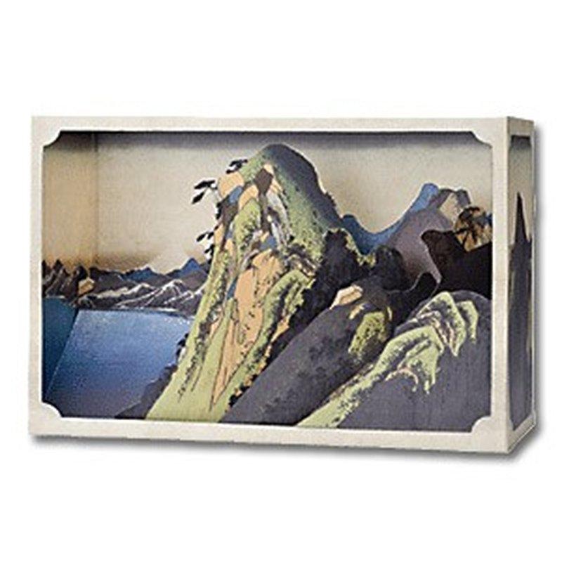 Tatebanko Bausatz für Papierdiorama ´Der See be...