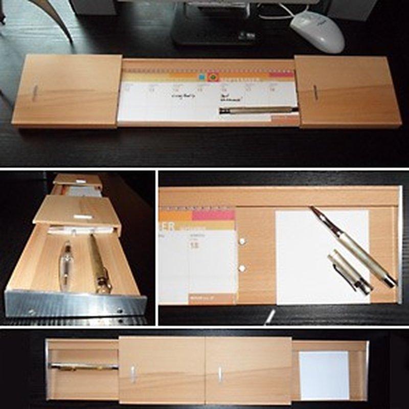 Handgefertigter Schreibtisch Organizer / Büro-A...