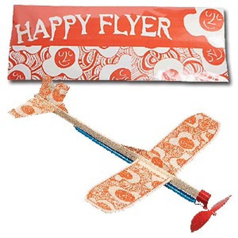 Flugzeug-Modell ´Artful Flyer: Happy Flyer´ aus Balsa-Holz