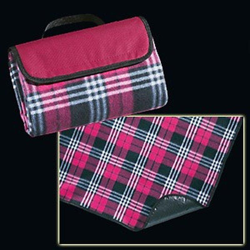 Faltbare Picknick-Decke zum Tragen, Rot