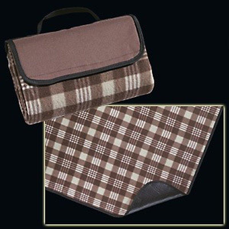 Faltbare Picknick-Decke zum Tragen, Braun