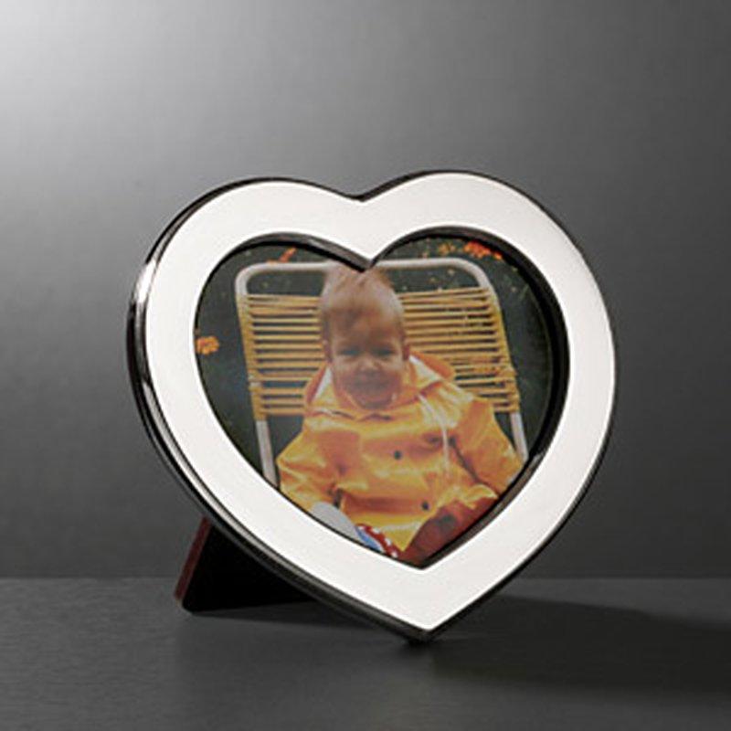 Bilderrahmen mit Herz aus Sterling-Silber 6x9