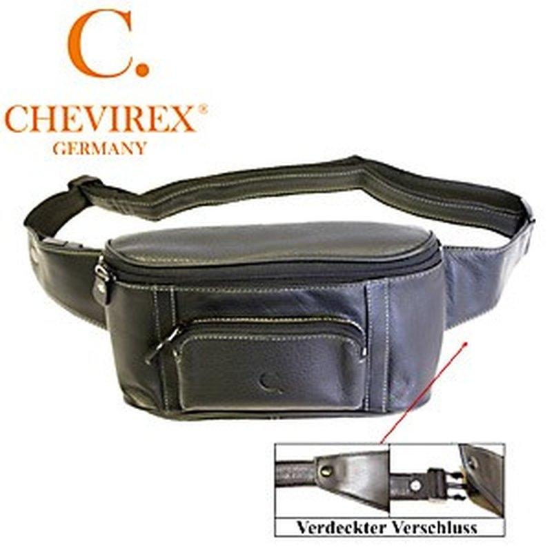 Chevirex Bauchtasche aus Leder