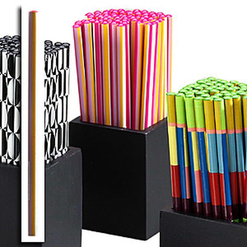 Display 60 Bleistifte ´Pink&White&Orange´ in Ho...