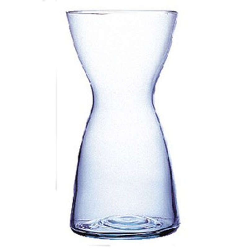 Blumenzwiebel Vase aus Glas