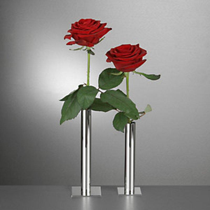 Blumen Vase aus Sterling-Silber 15 cm