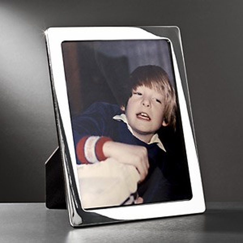 Polierter Bilderrahmen aus Sterling-Silber 18x24