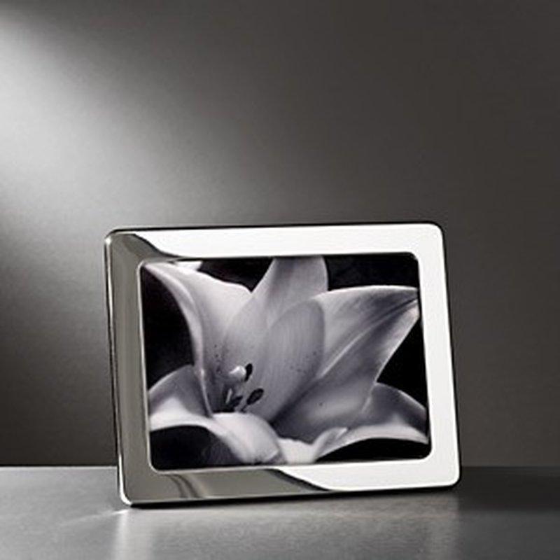 Polierter Bilderrahmen aus Sterling-Silber 13x18