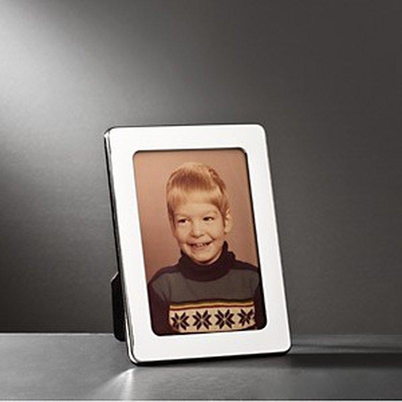 Polierter Bilderrahmen aus Sterling-Silber 10x15