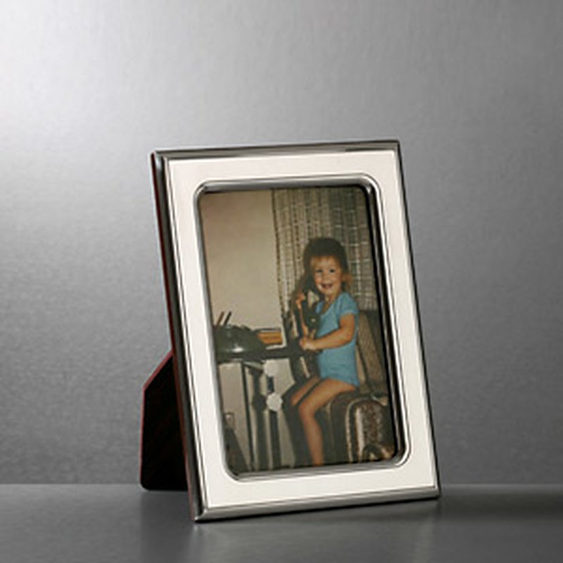 Bilderrahmen aus Sterling-Silber 9x13