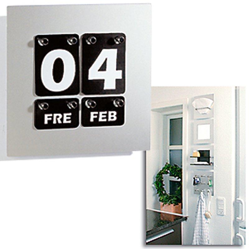 PO:Design Dauer-Kalender ´Quadrat´ für die Wand