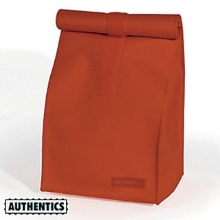 Authentics Kultur- / Sammel-Tasche Rollbag, Rot-Orange