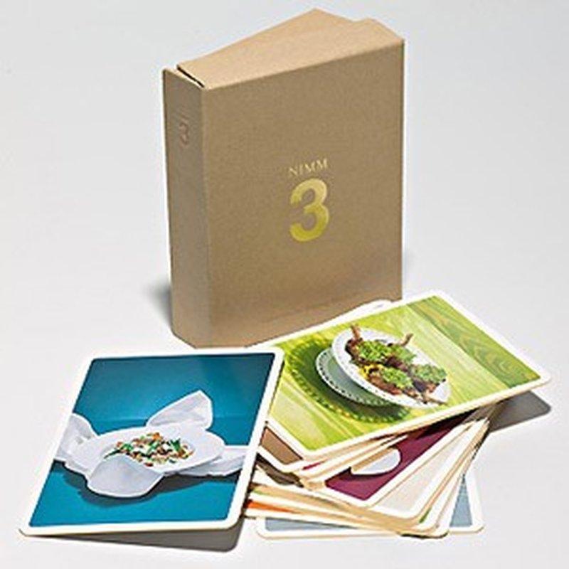 NIMM 3 - 24 Gourmetkarten mit Rezepten mit nur 3 frischen Zutaten