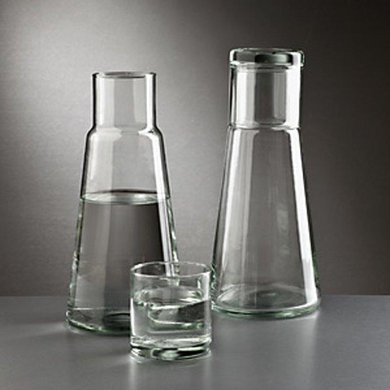 Bedside Bottle aus Glas