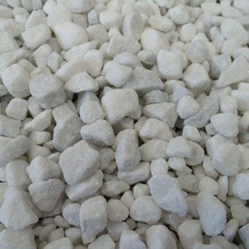 300 gr. Deko-Steine aus Carrara Marmor für Garten-Laternen