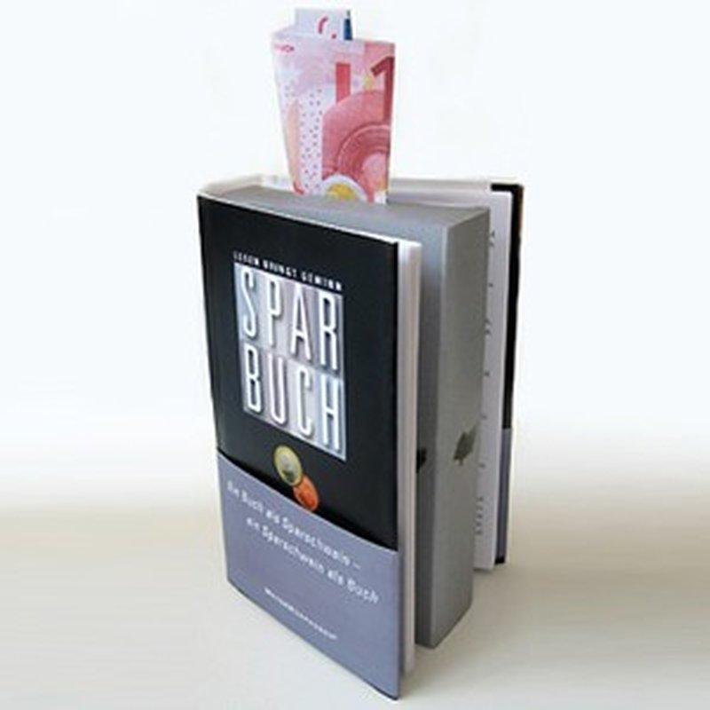 Das SparBuch - Die Spardose in Buchform
