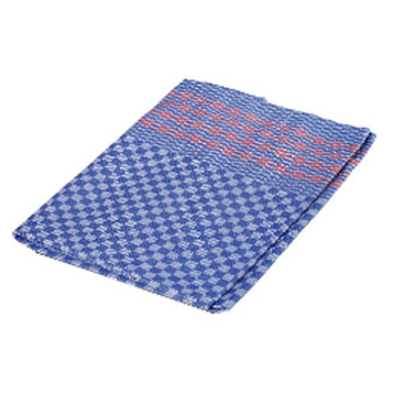 Großes Grubenhandtuch oder Halbleinen Küchen- und Gläser-Tuch