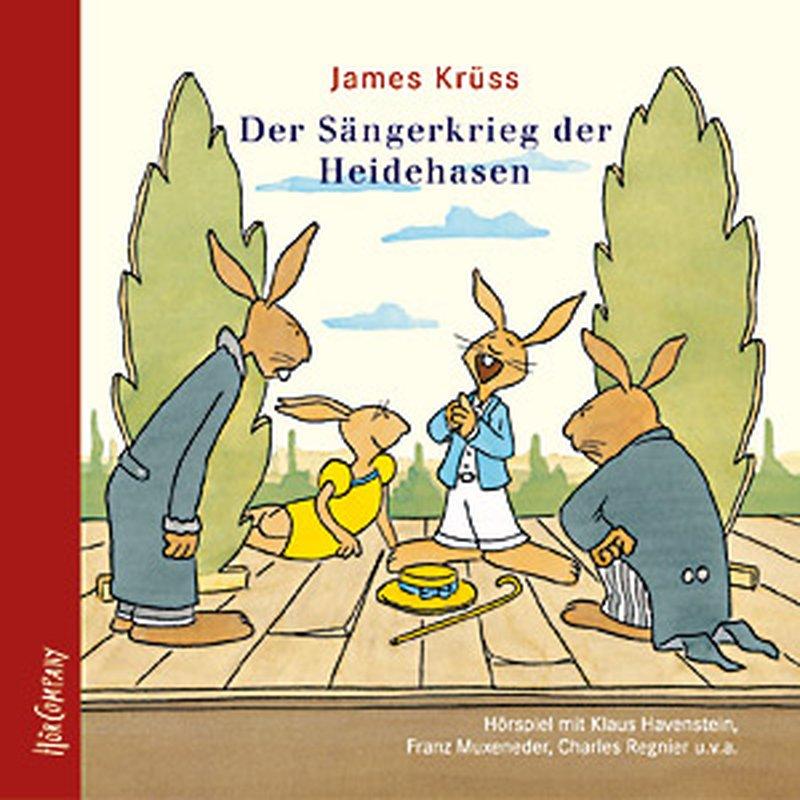 Hörbuch / CD James Krüss ´Der Sängerkrieg der Heidehasen´