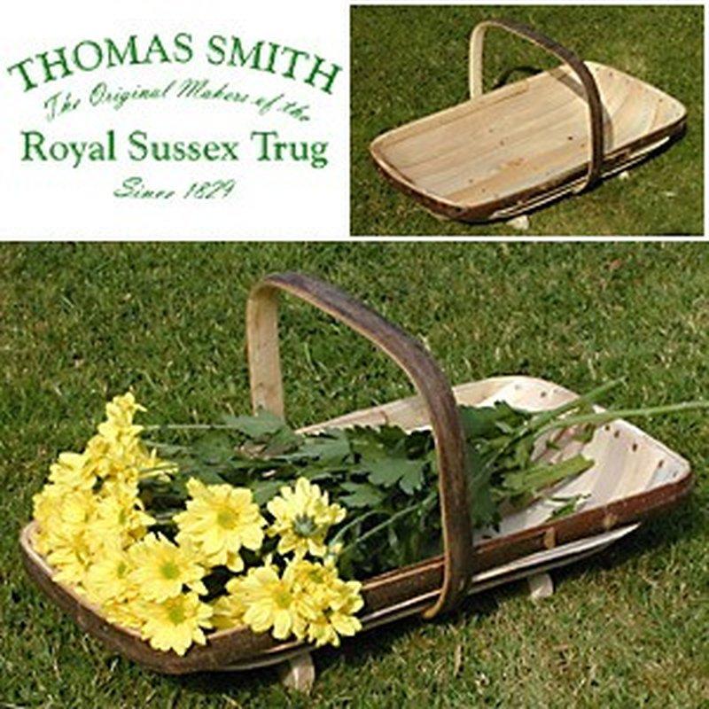 Royal Sussex Flower Trug No. 2, Blumenkorb aus ...